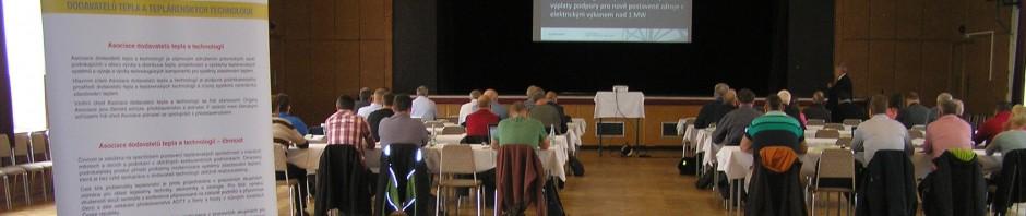 Diskusní workshop Kogenerace pro komunální teplárenské zdroje 2019 Pardubice